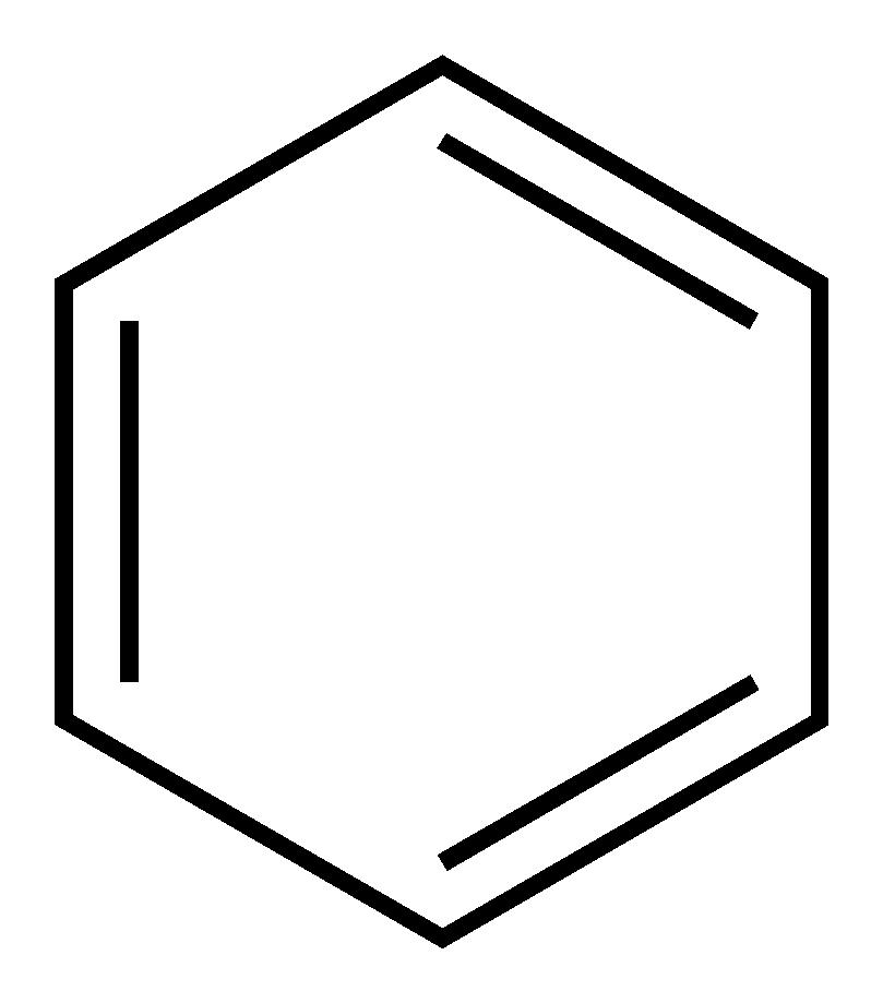 Beschrijving benzene kekule 2d skeletal