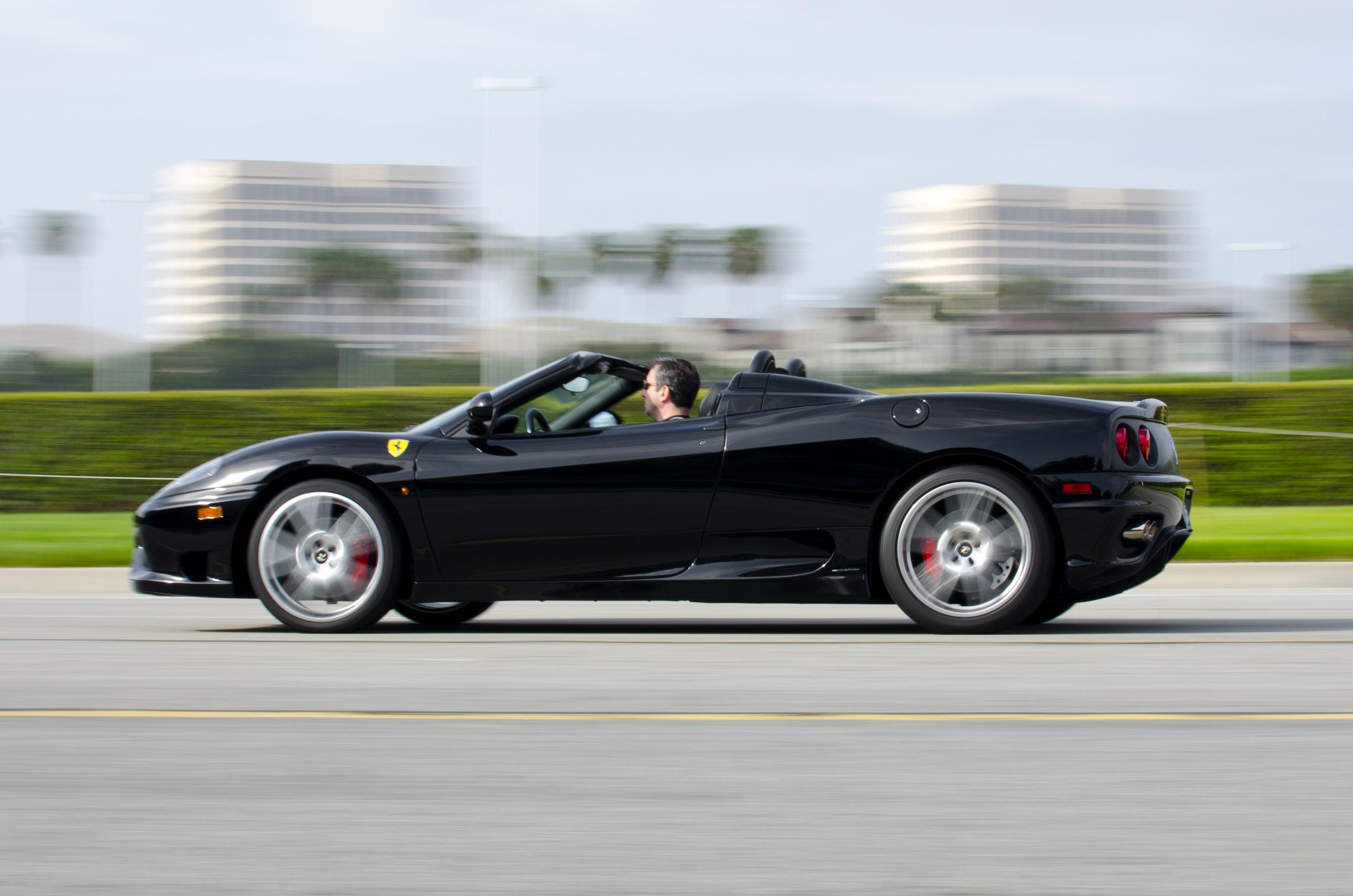 File Black Ferrari 360 Spider Jpg Wikimedia Commons