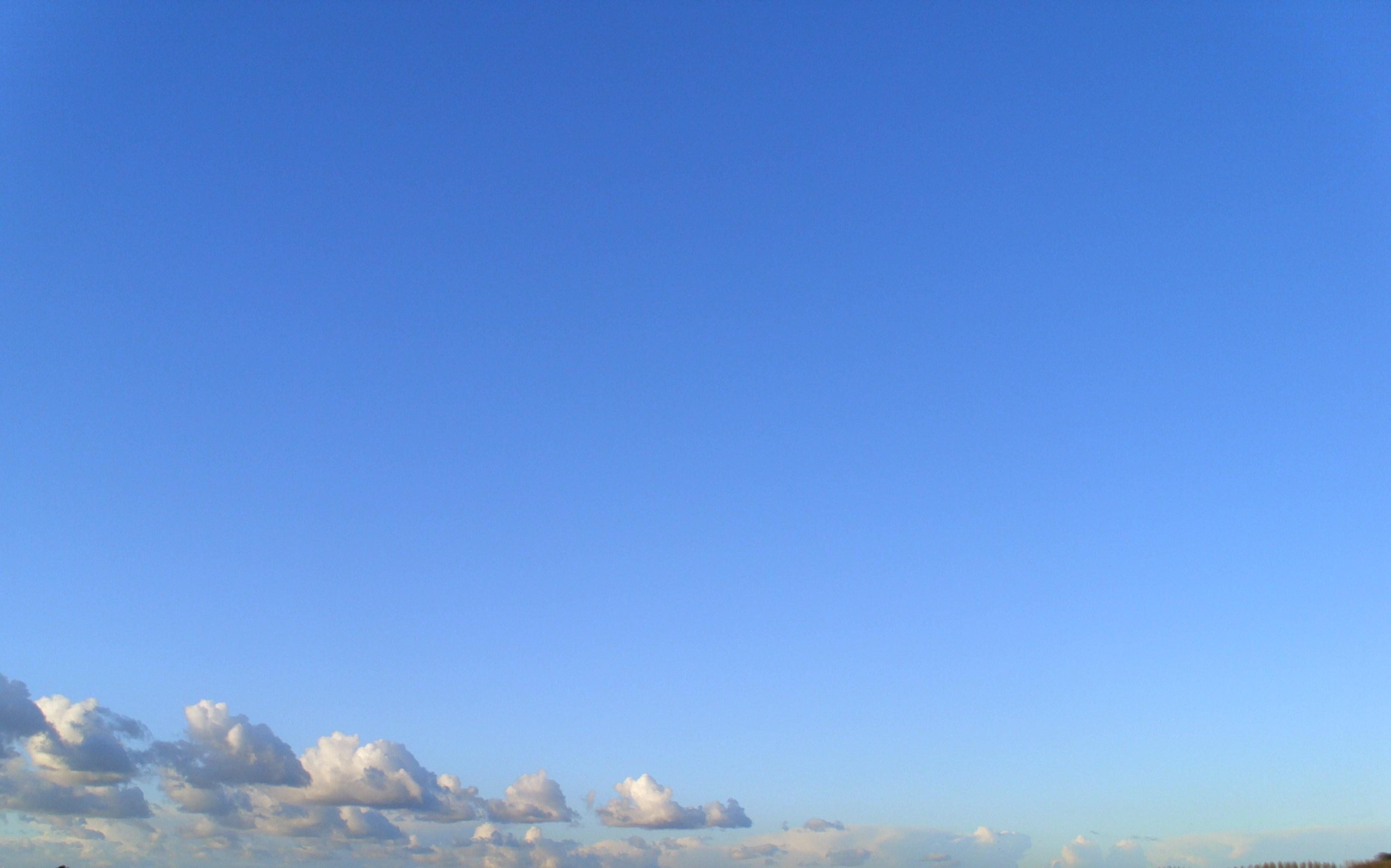 Картинка небо голубое ясное