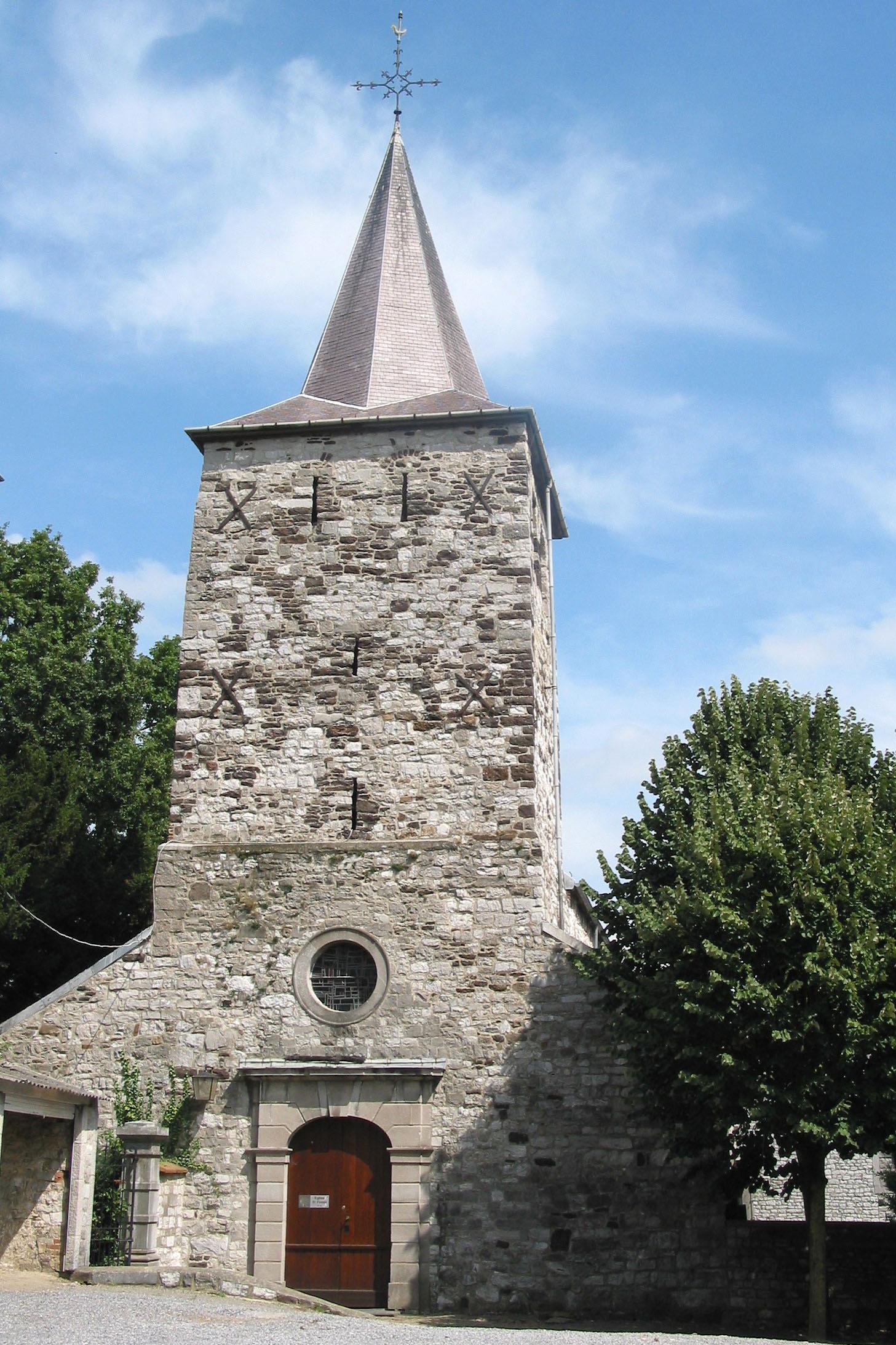 Église Saint-Firmin du XIème siècle de Bonneville