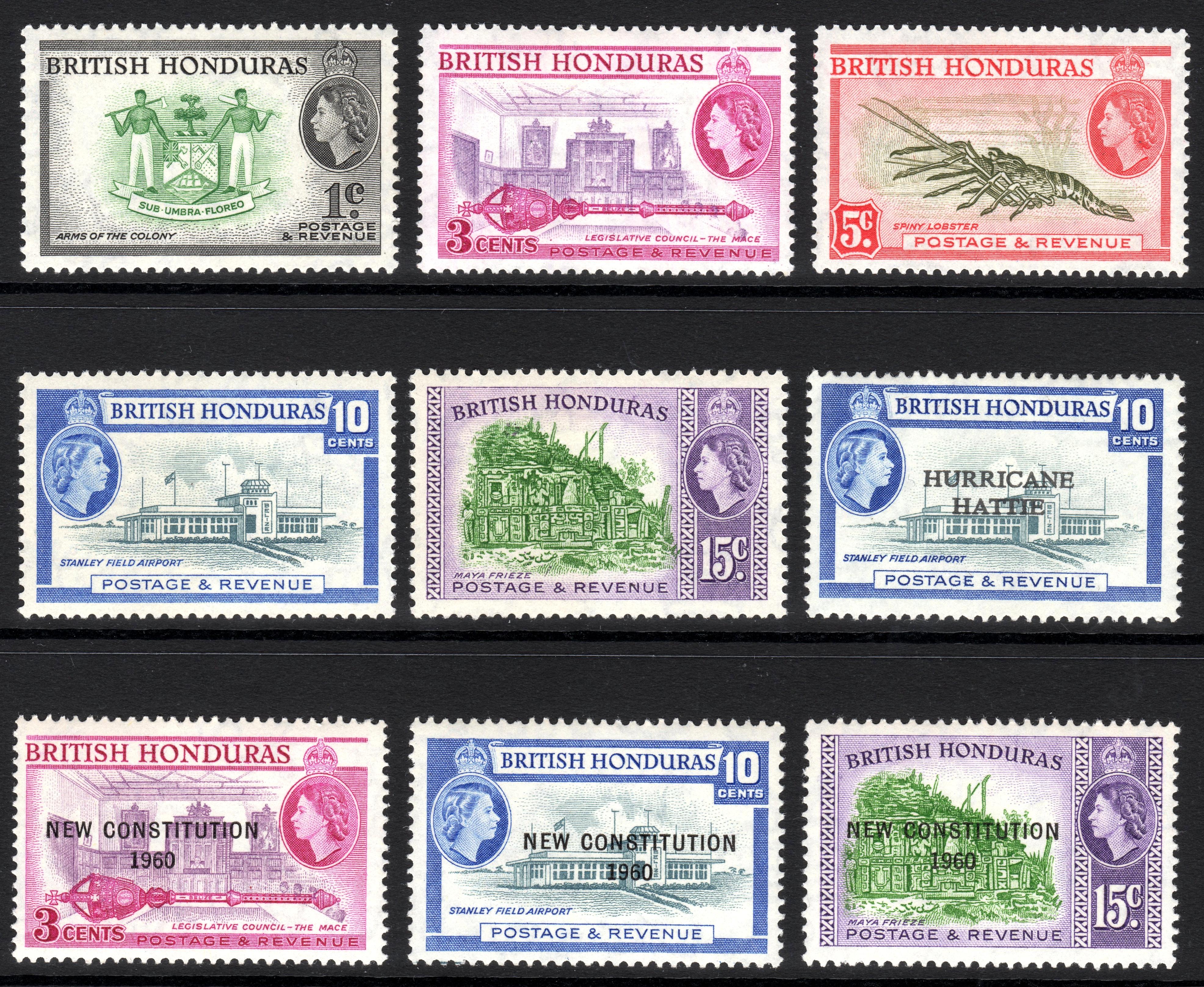 1961 British Honduras 1 Cent