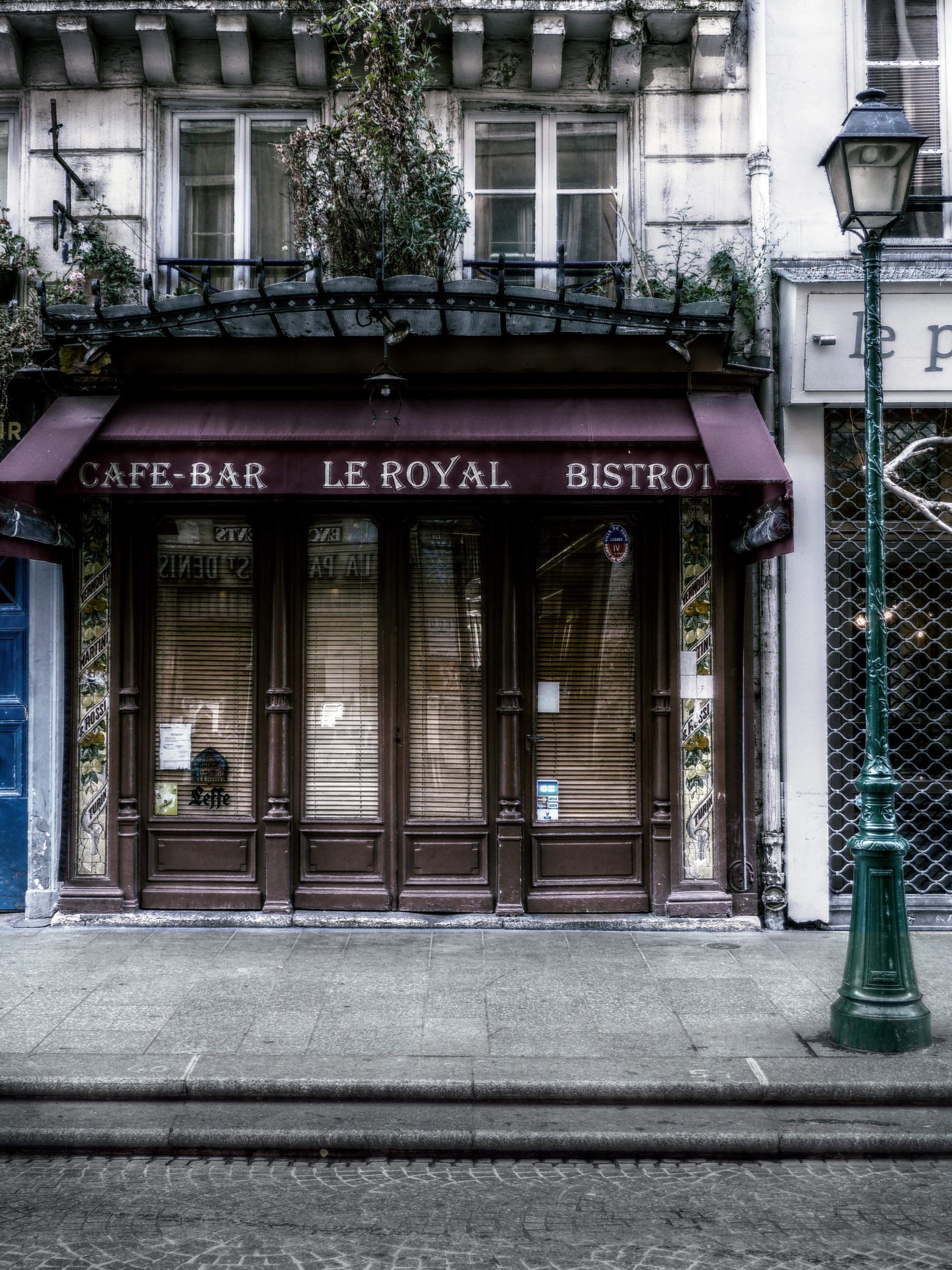 Caf Ef Bf Bd Bar Paris
