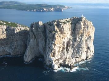 Alghero, promontorio di Capo Caccia - fonte immagine: wikipedia