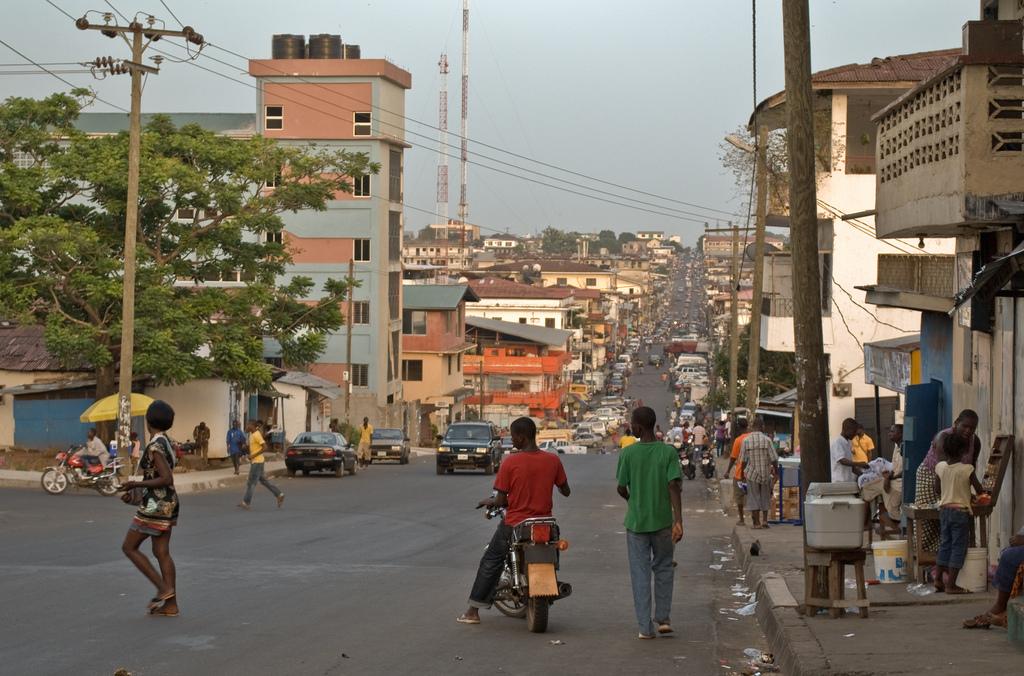Center street , Liberia Africa - panoramio.jpg