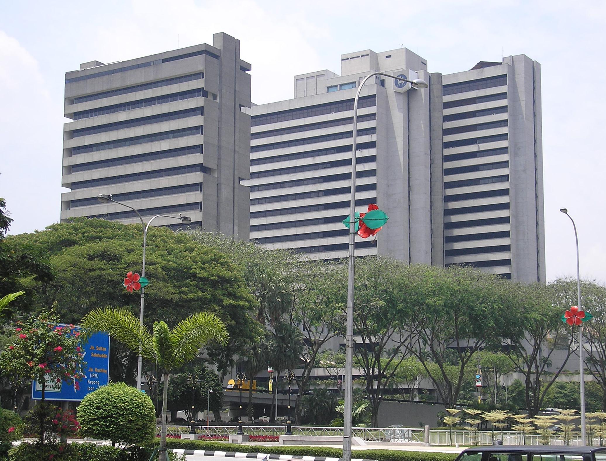 BNM headquarters in Kuala Lumpur