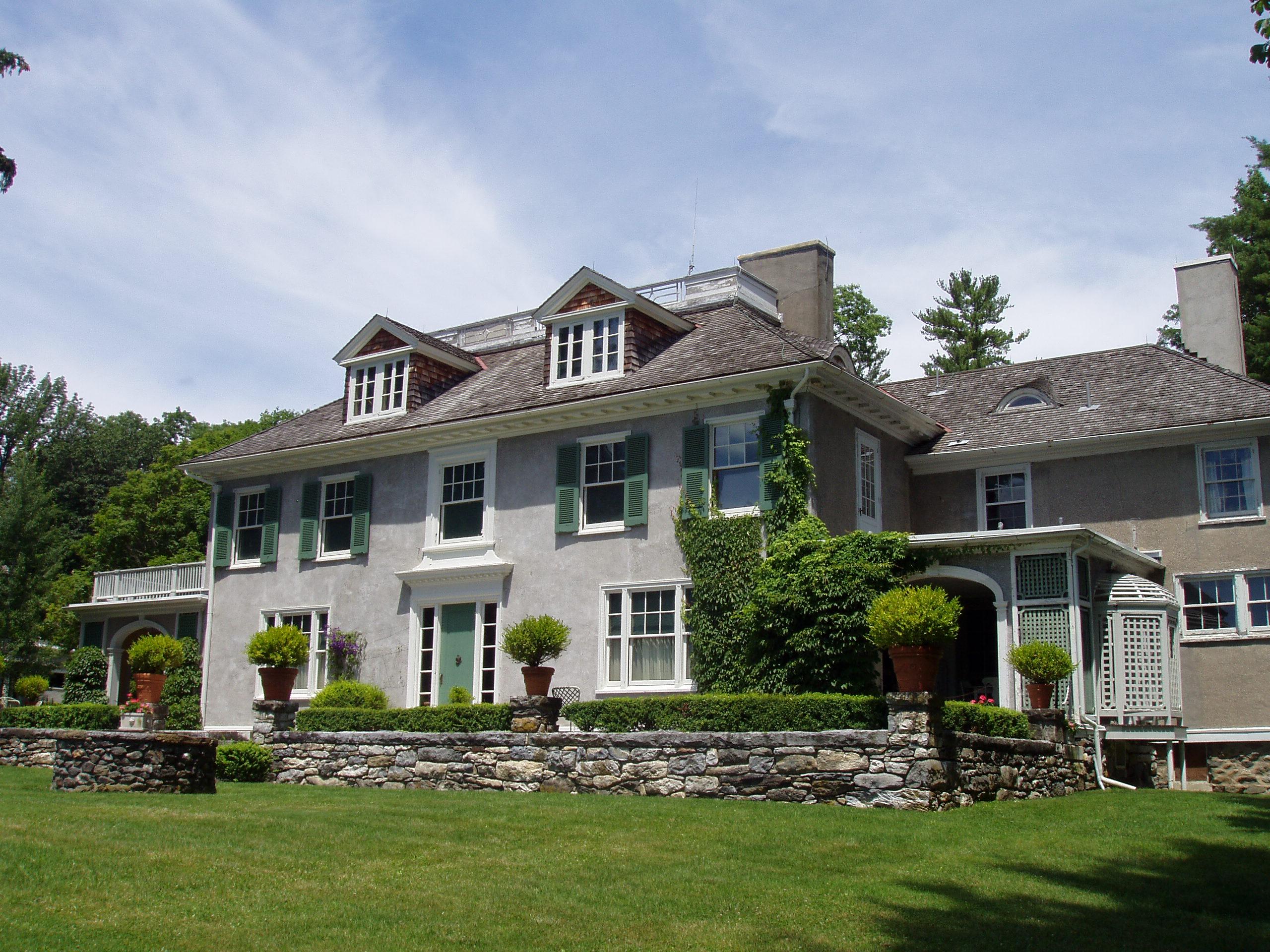 File chesterwood stockbridge ma house jpg simple for Minimalist house wiki