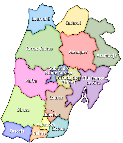 Regiones de Lisboa