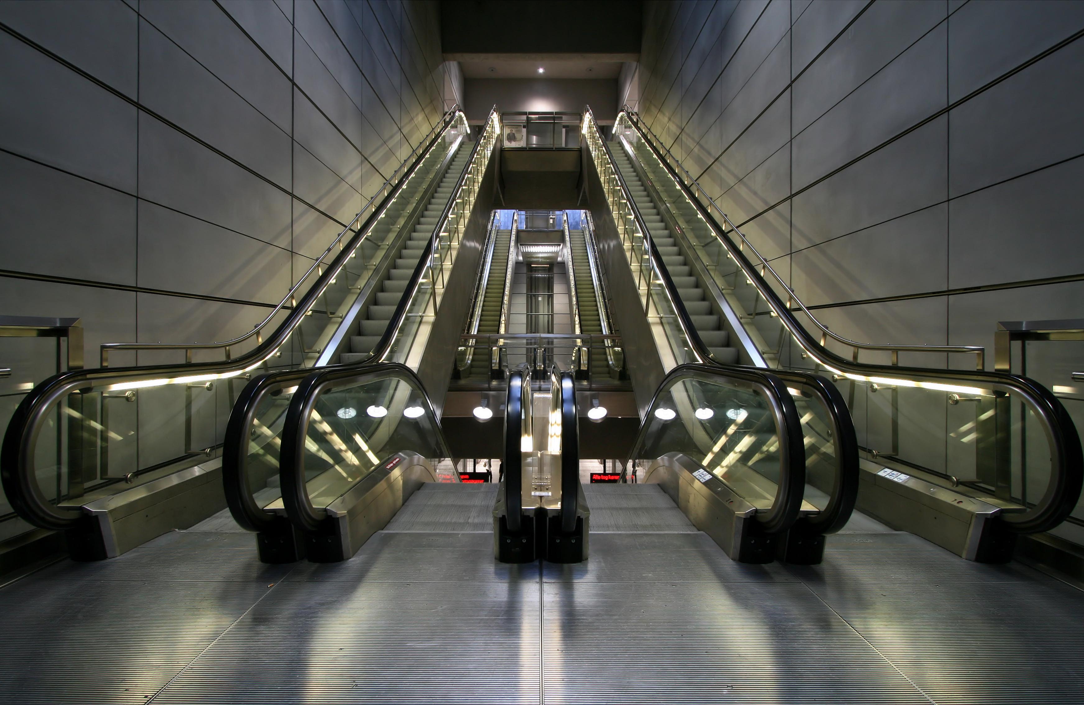 Copenhagen Metro Escalators