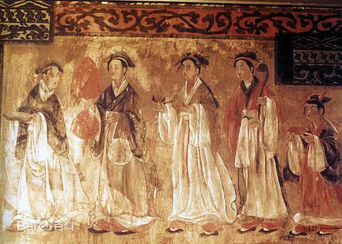 Dahuting mural, Eastern Han Dynasty