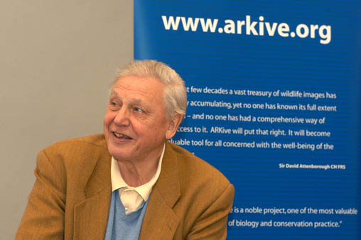 Geadelt für seine Naturfilme: Sir David Attenborough (Foto: www.wildscreen.org, (c) 2003)
