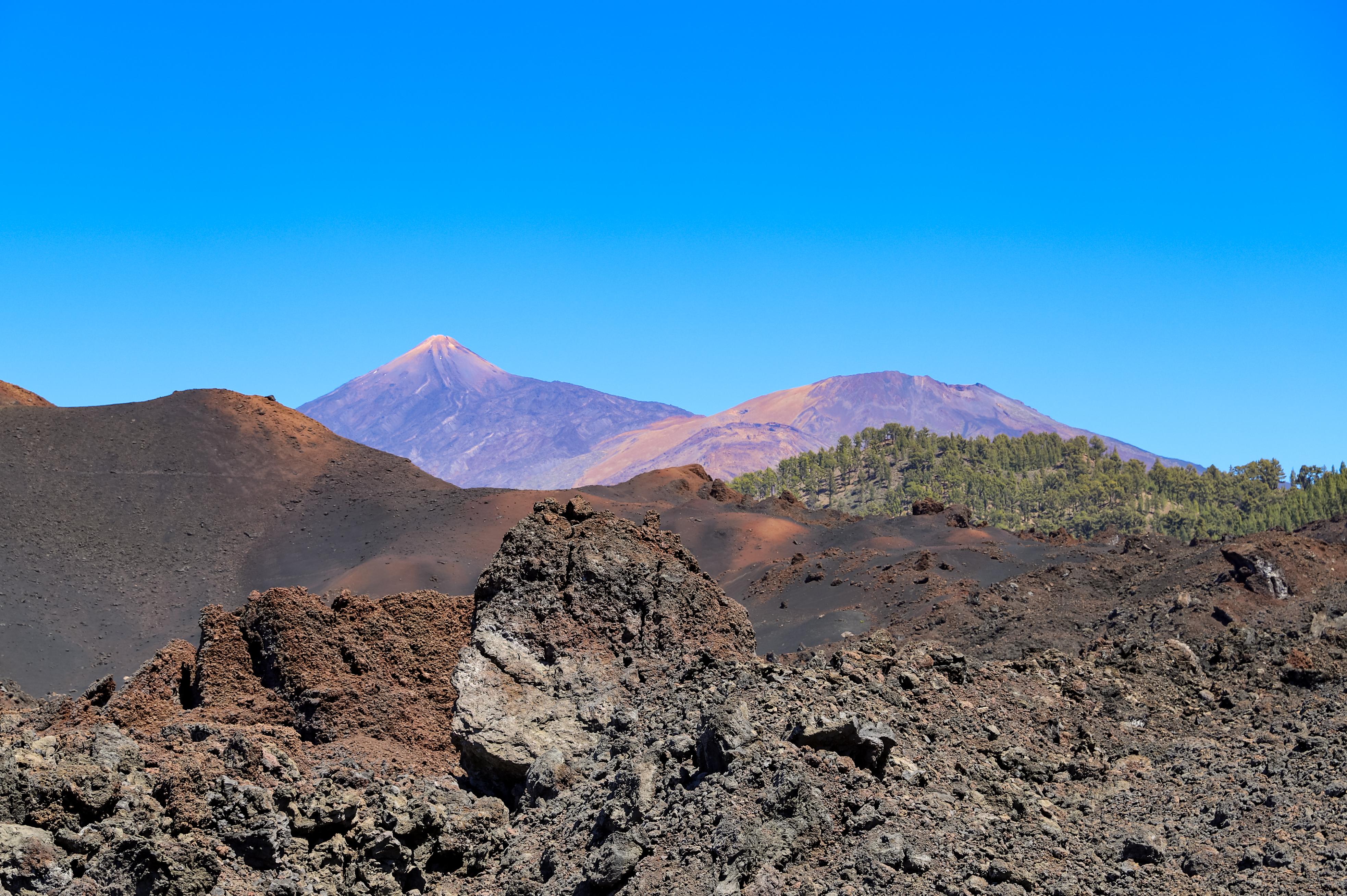 Teneriffa Vulkan