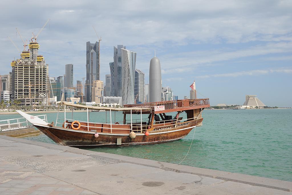كورنيش الدوحة الرائع