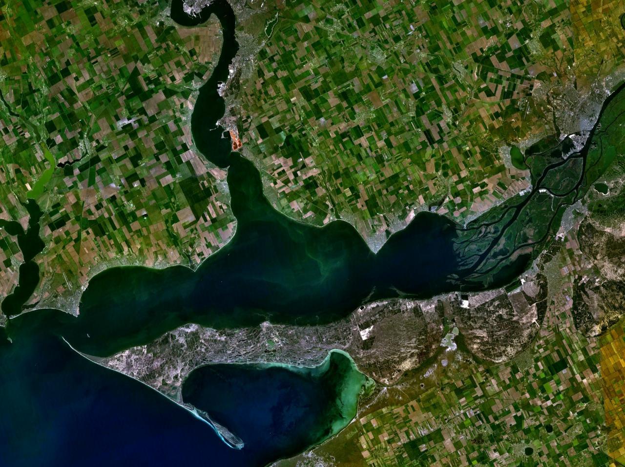 Rusija poslala oštro upozorenje SAD-u: 'Ne šaljite ratne brodove blizu Krima - za vaše dobro' - Page 2 Dnieper_32.03650E_46.60888N