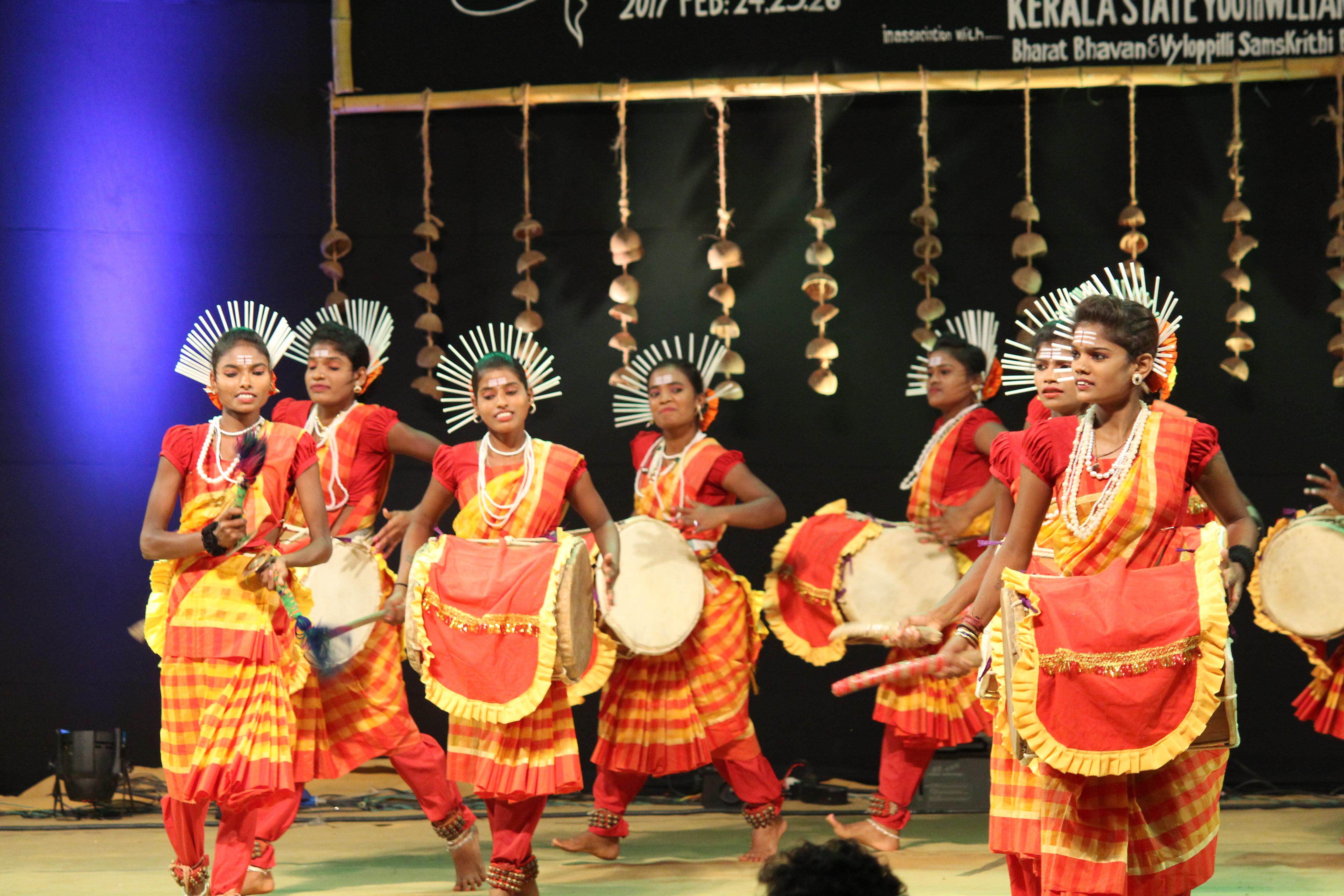 Folk dances of karnataka.