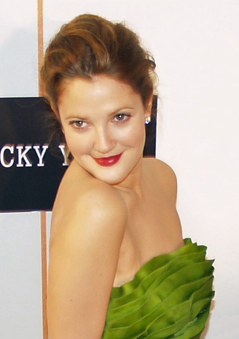 Drew Barrymore, Image source: http://upload.wikimedia.org/wikipedia/commons/4/42/Drew_Barrymore_headshot_by_David_Shankbone.jpg