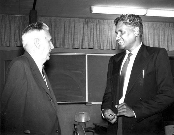 File:E. Miller and J. Harishchondra, Goshen Indiana, 1964 (16186797838).jpg