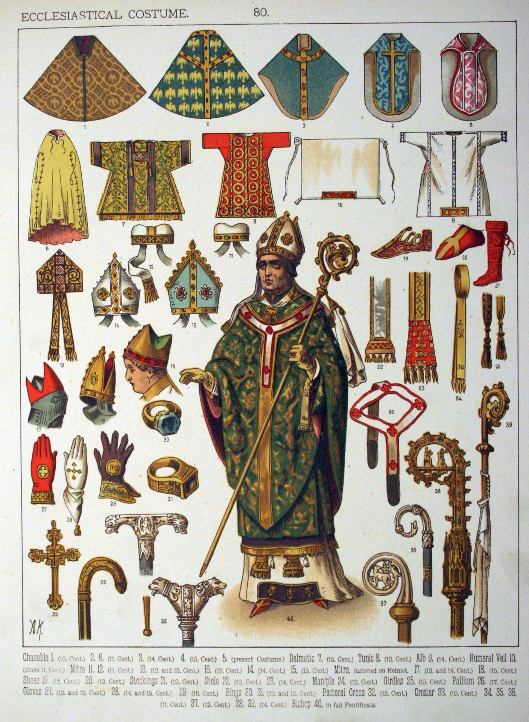 Výsledok vyhľadávania obrázkov pre dopyt ecclesiastical costumes