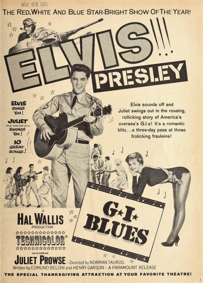 File:Elivis Presley in 'G I  Blues' jpg - Wikimedia Commons