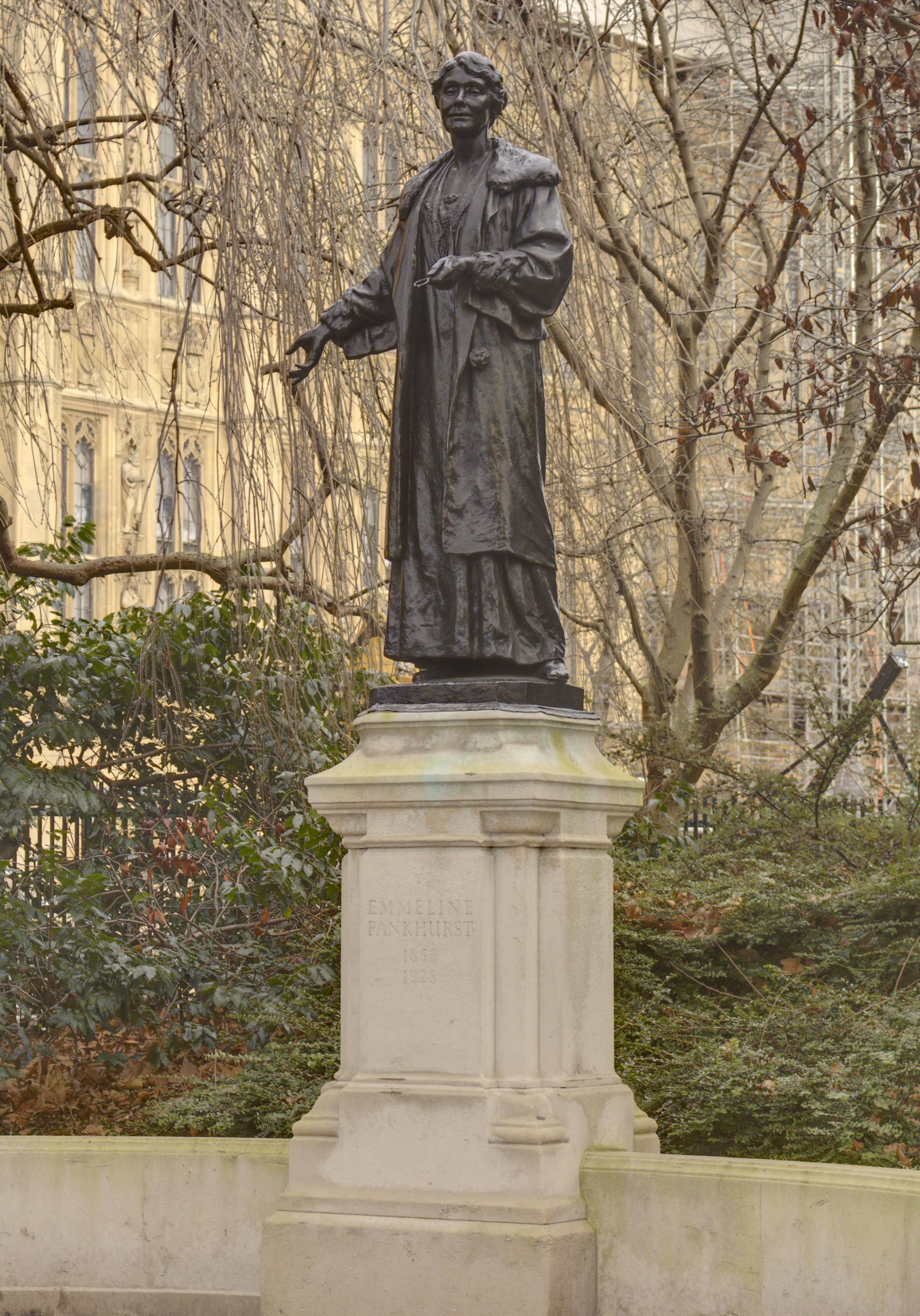 Gallery for gt emmeline pankhurst statue