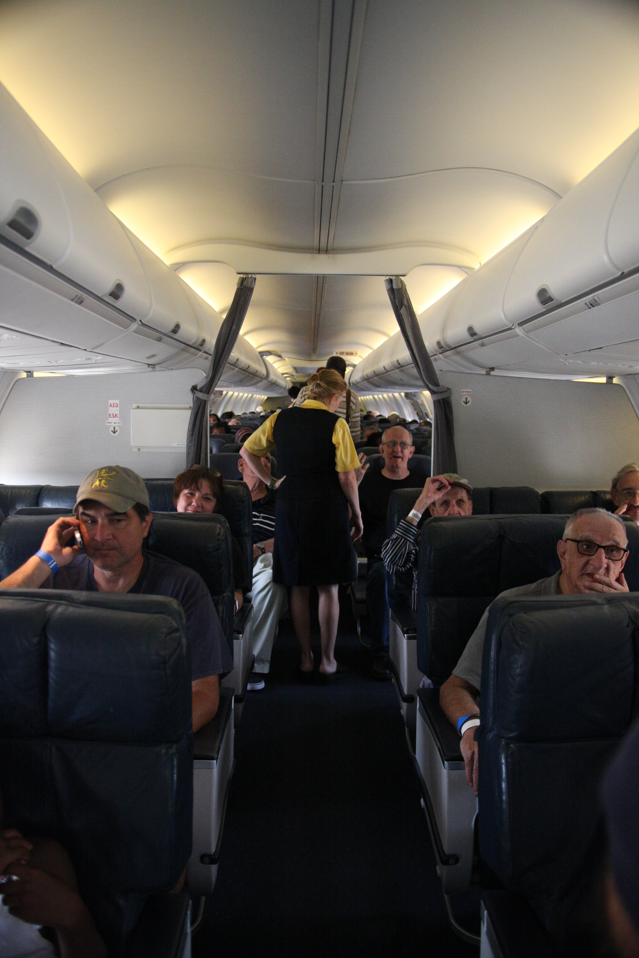 File Fema 37749 Residents Inside An Airplane Being