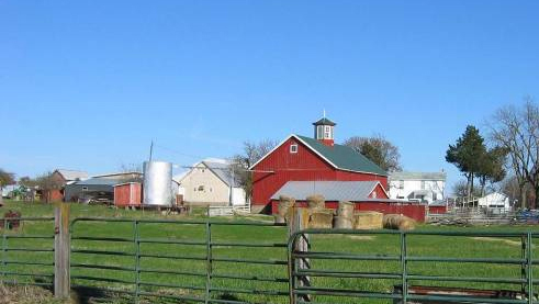 Farm Building Iowa State