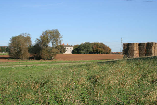 Farmland near Grantham - geograph.org.uk - 269358
