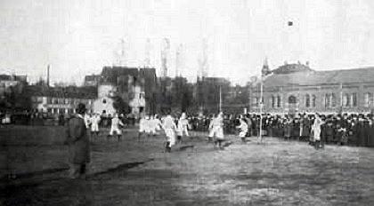 Trận đấu đầu tiên của Bayern München vào năm 1901