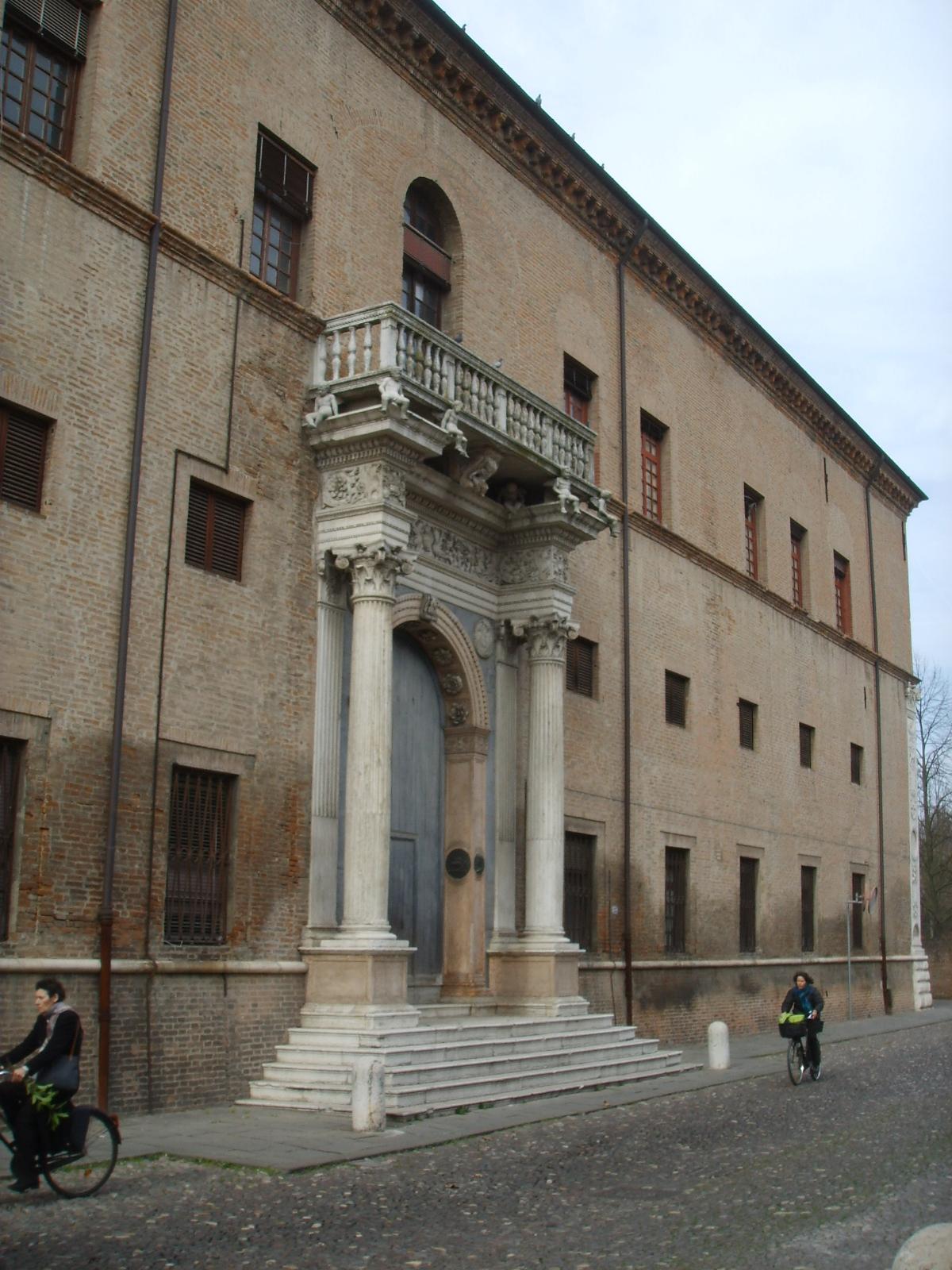 Palazzo prosperi sacrati wikipedia - Palazzo turchi di bagno ...