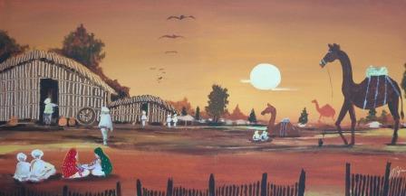 FileFinger Artist Iftekhar Raja Rajasthani Painting