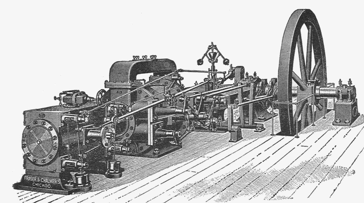 File:Fraser & Chalmers horizontal blowing engine (New ...