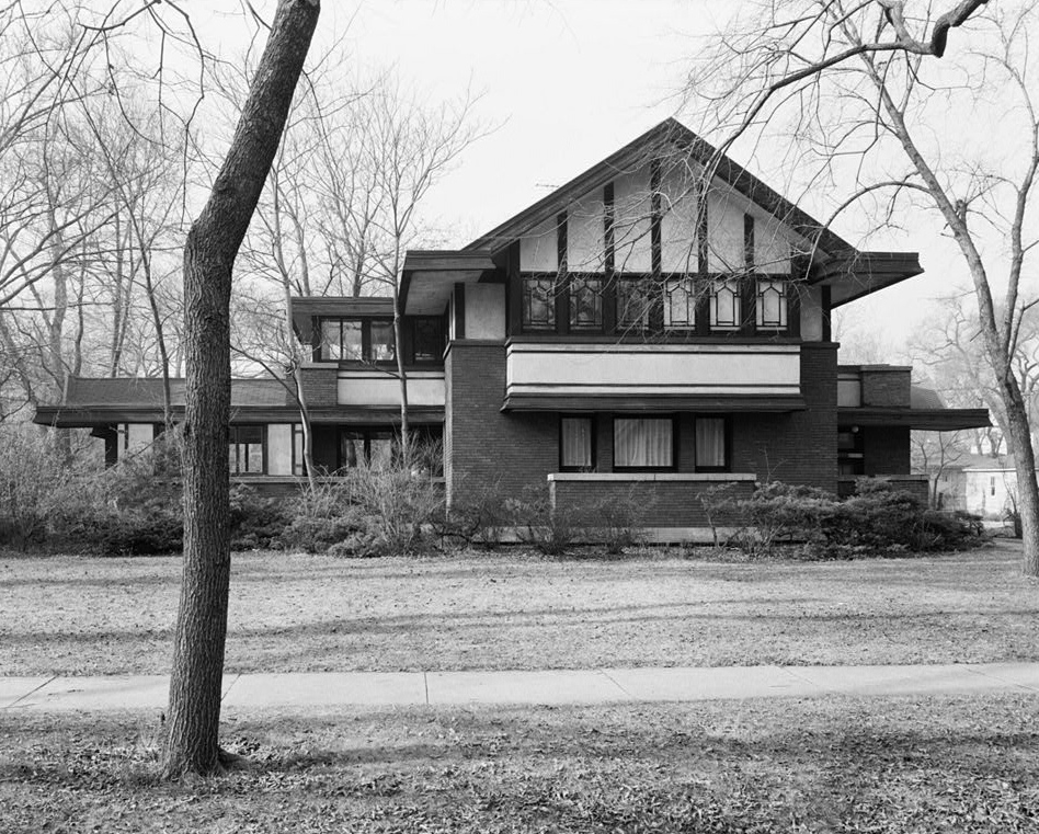 About walter burley griffin architect landscape for Fredrick house