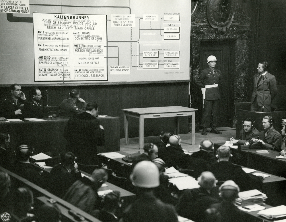 file german nazi ss officer otto ohlendorf at nuremberg trials file german nazi ss officer otto ohlendorf at nuremberg trials 1945 jpeg