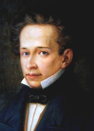 Portrait of Leopardi (1820)