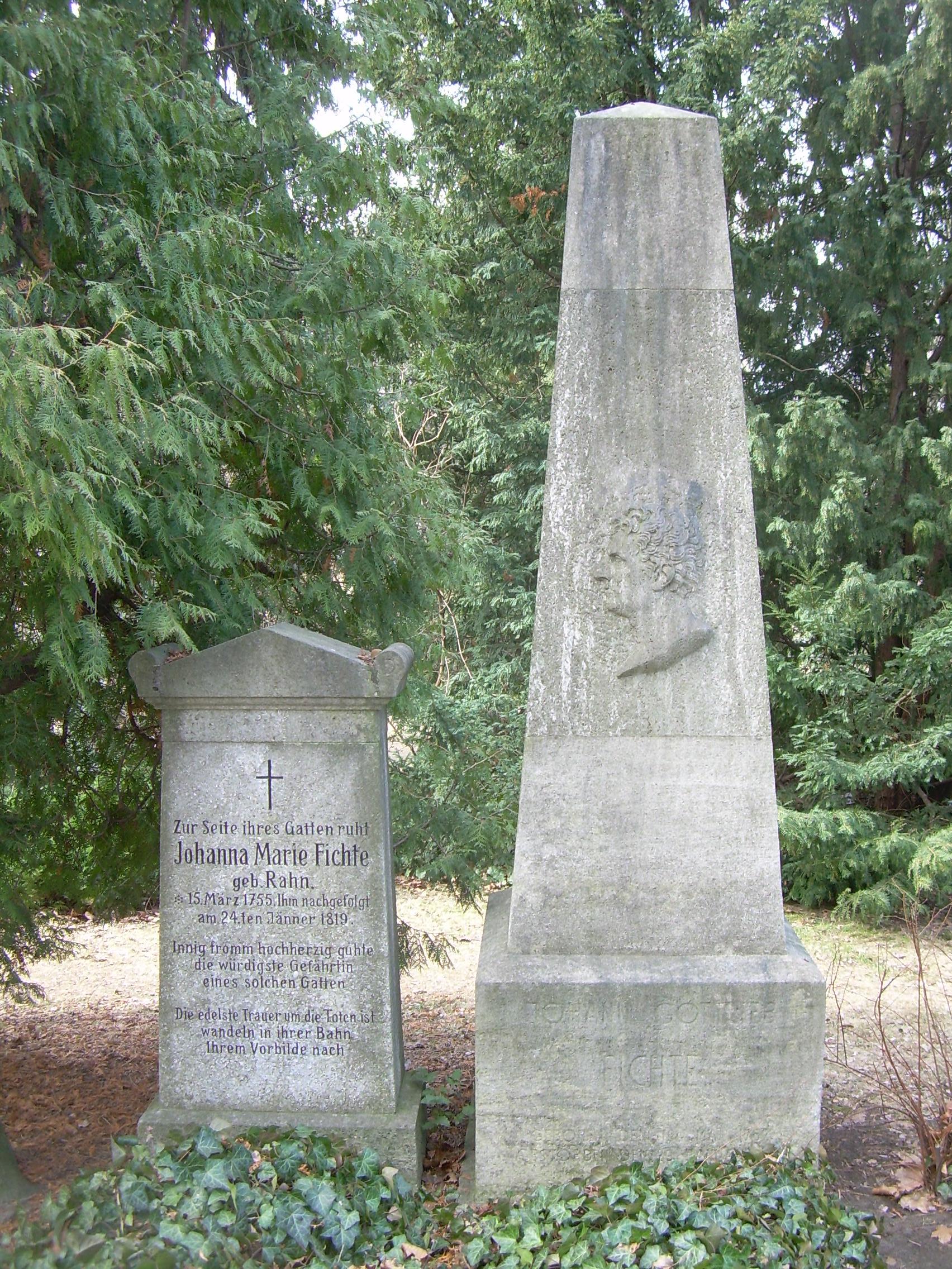 Johann Gottlieb Fichte –
