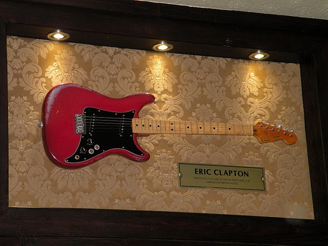 Hard Rock Cafe London Clapton's guitar Fender