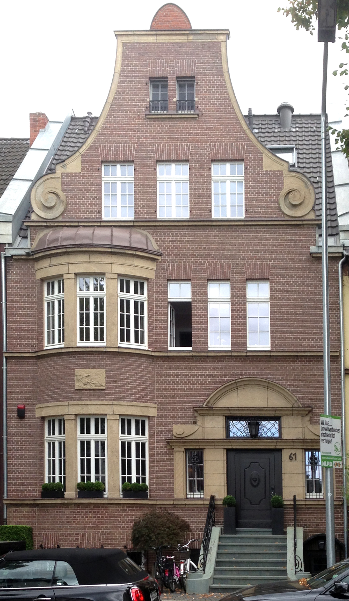 File Haus Düsseldorfer Straße 61 Düsseldorf Oberkassel