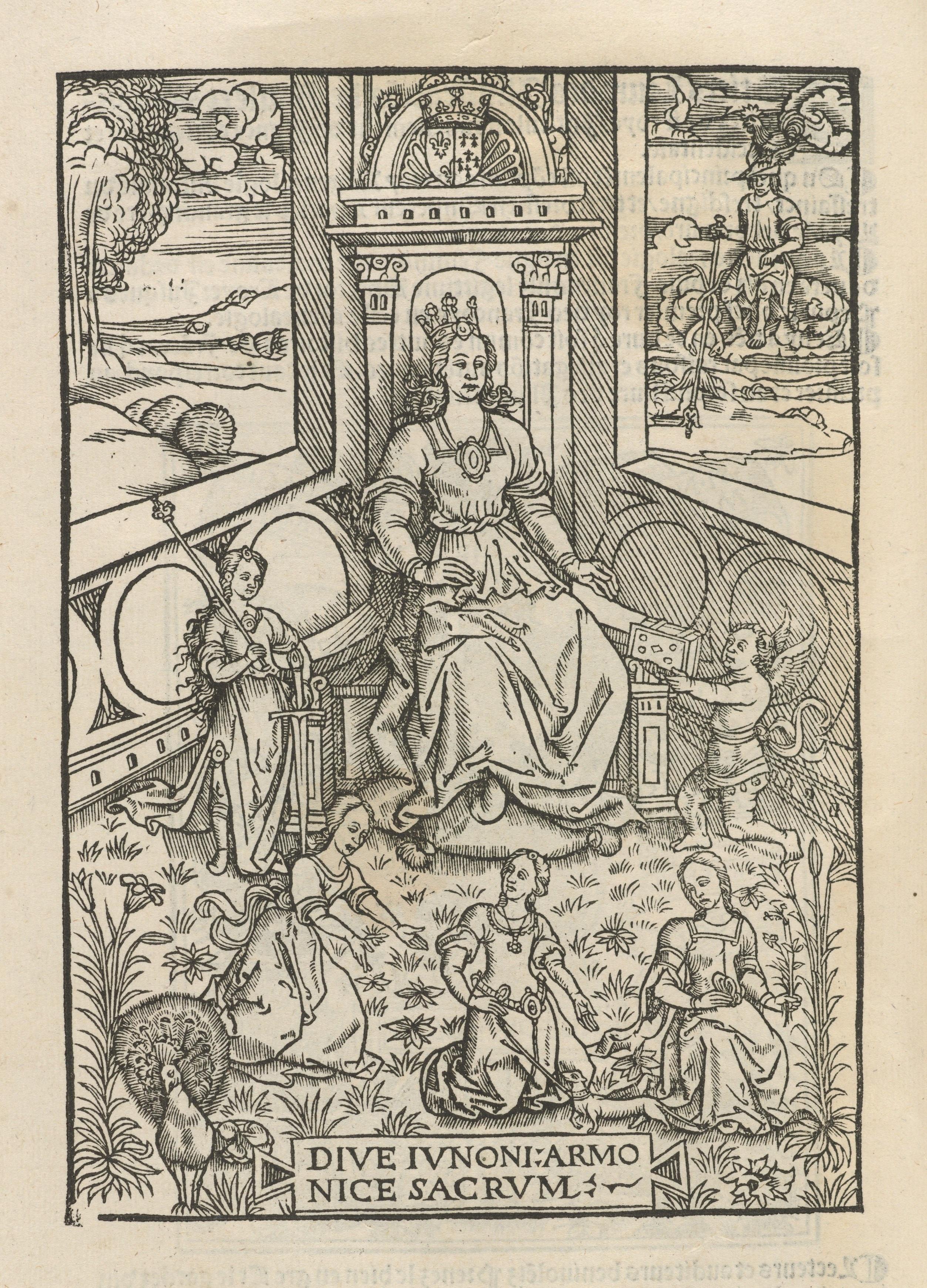 Page from ''Les illustrations de Gaule et sĩgularitez de Troye'', 1512