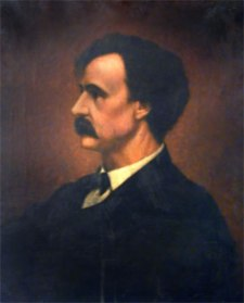 "Henry Winter Davis, one of the authors of the Wade–Davis Manifesto opposing Lincoln's ""ten percent"" reconstruction plan"
