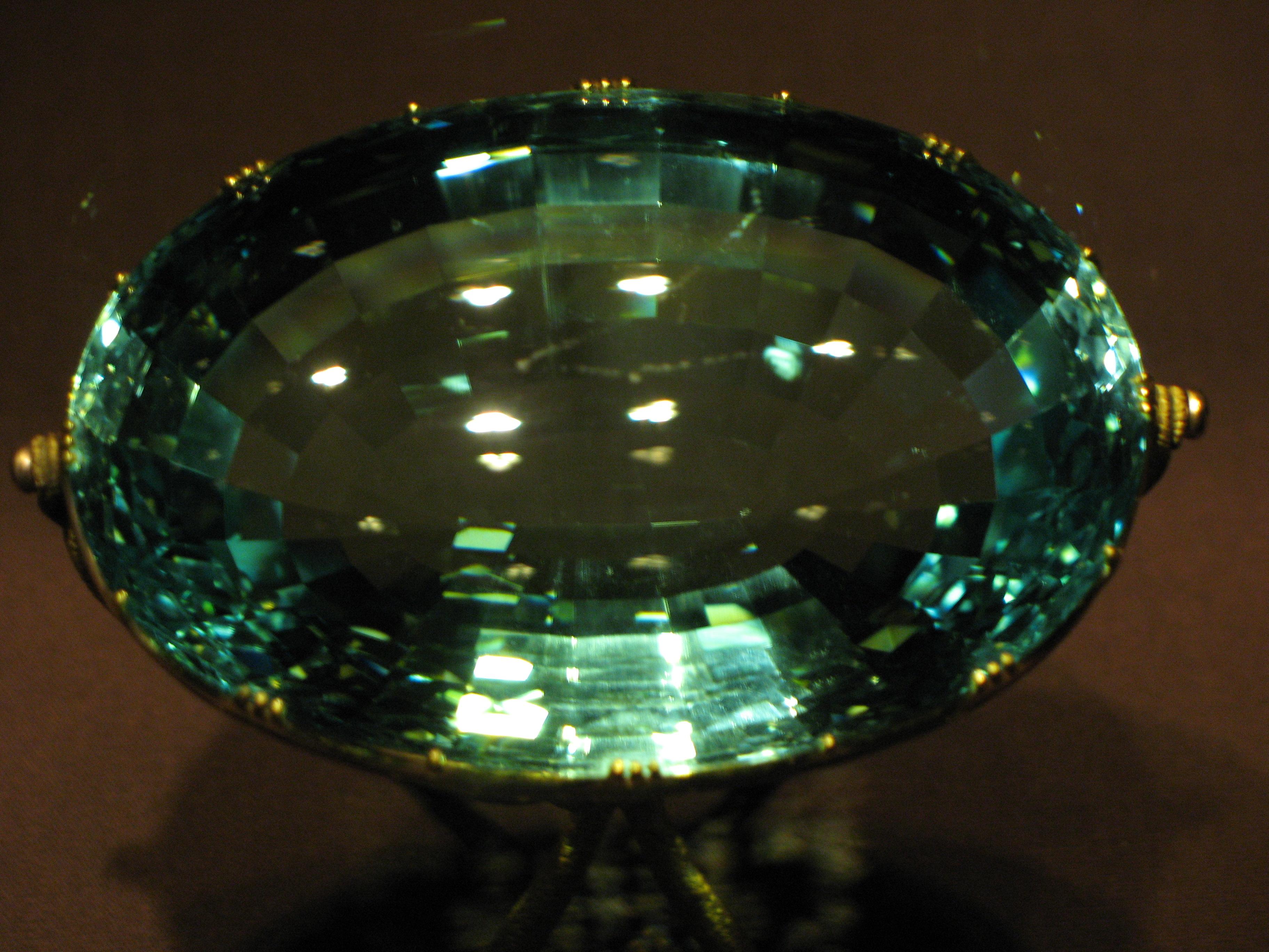 Carat Aquamarine And Accent Amethyst K Gold Ring