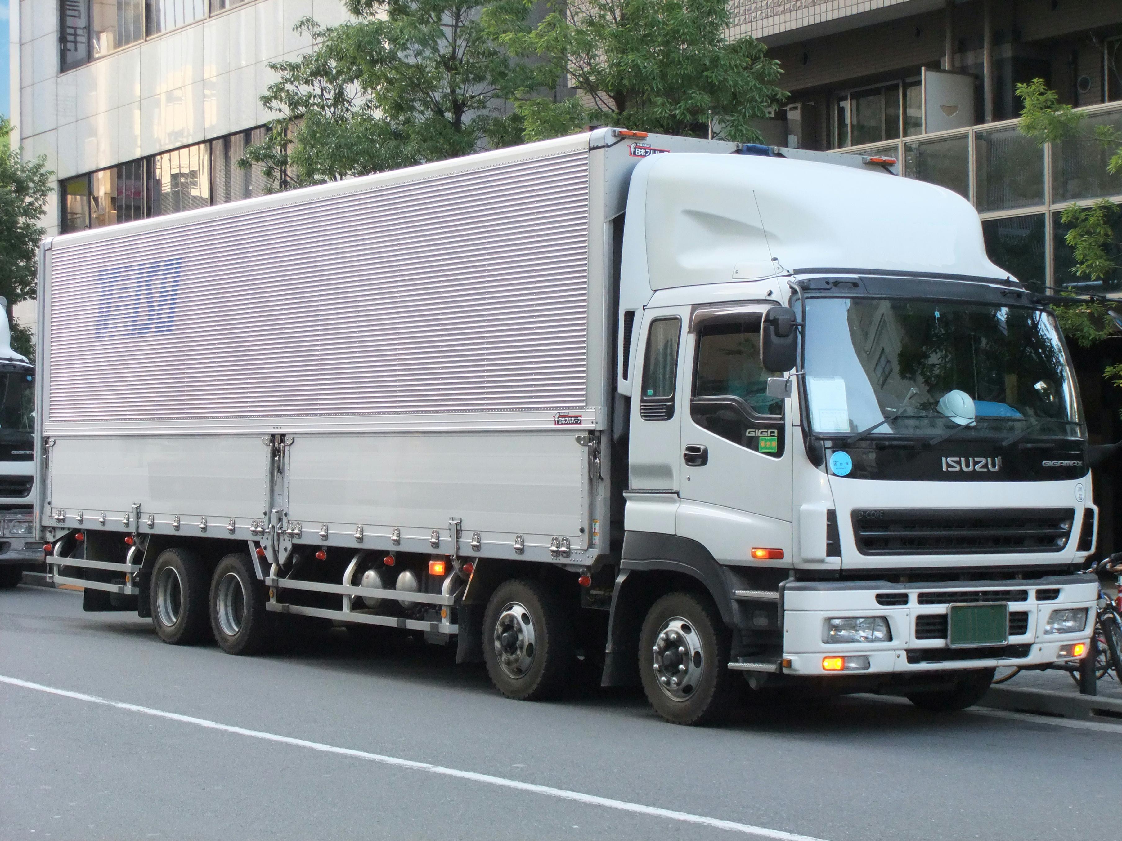 File Isuzu Giga Full Cab Aluminum Wing Truck Jpg