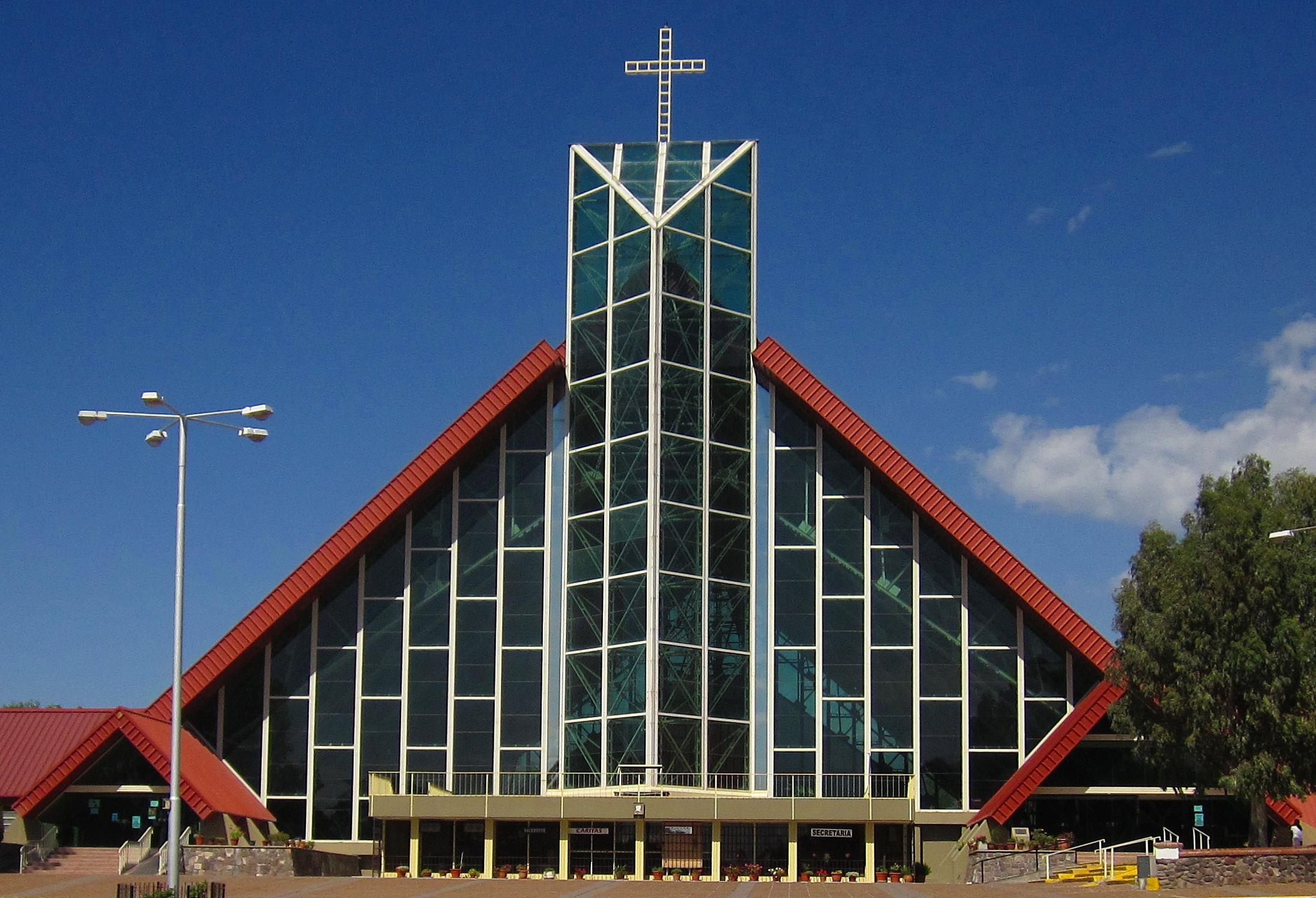 Nuestra Señora De Lourdes: File:Iglesia De Cristal Nuestra Señora De Lourdes De El