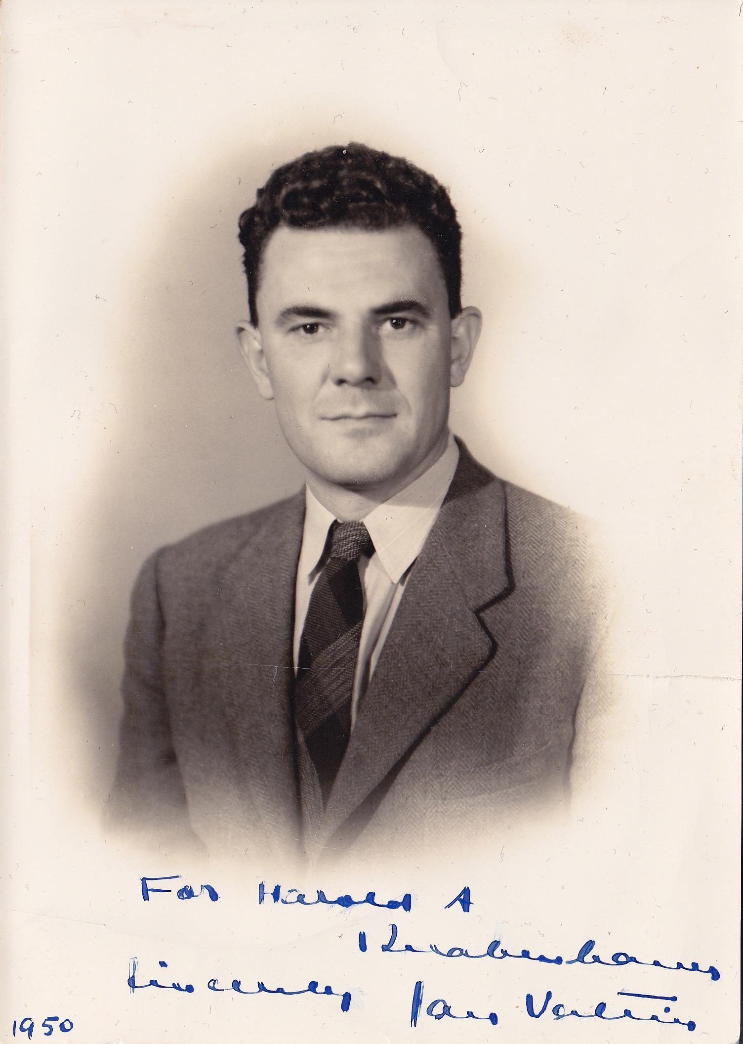 Jan Valtin in 1950