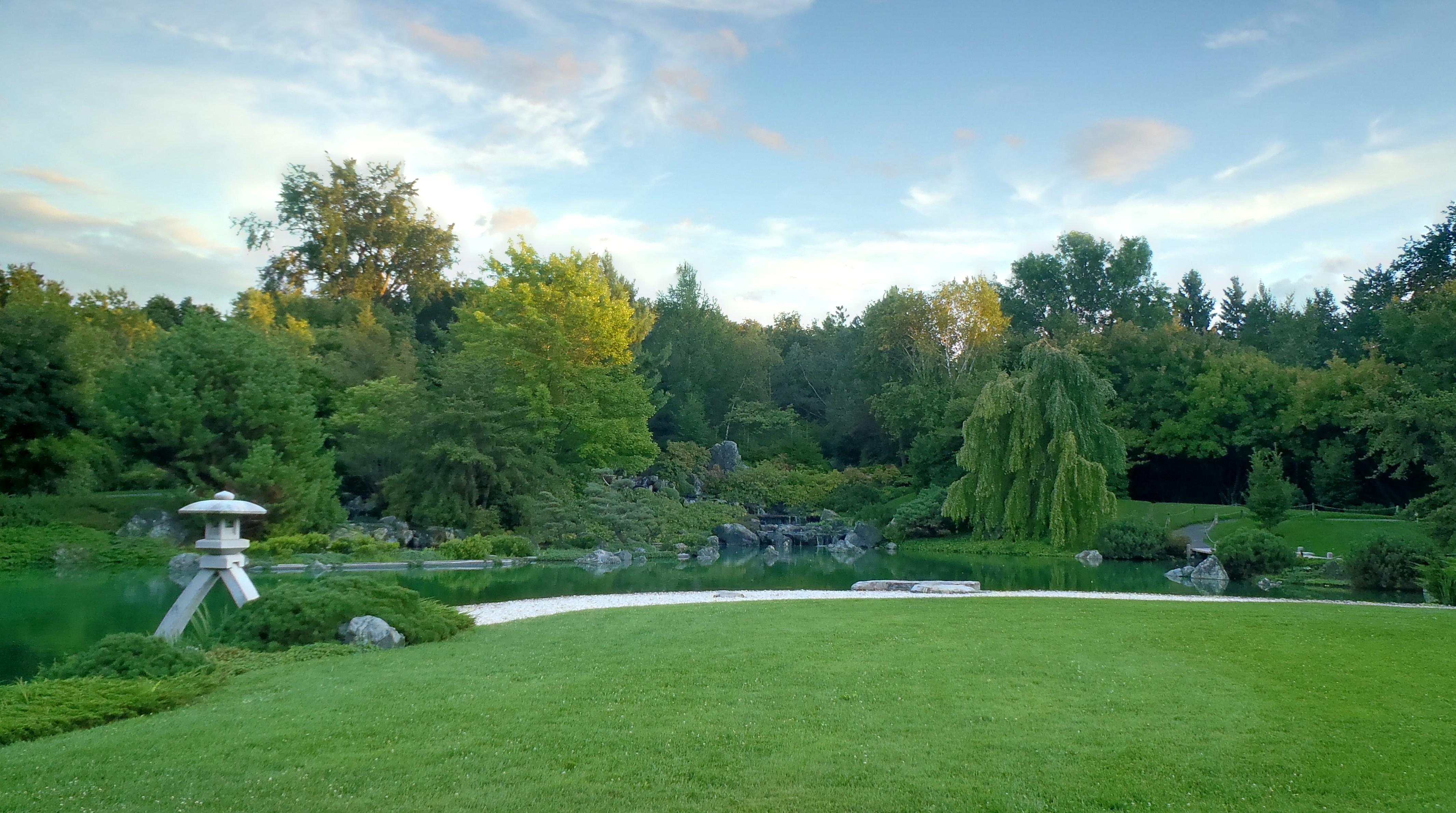 Description jardin botanique de montréal - jardin japonais 1