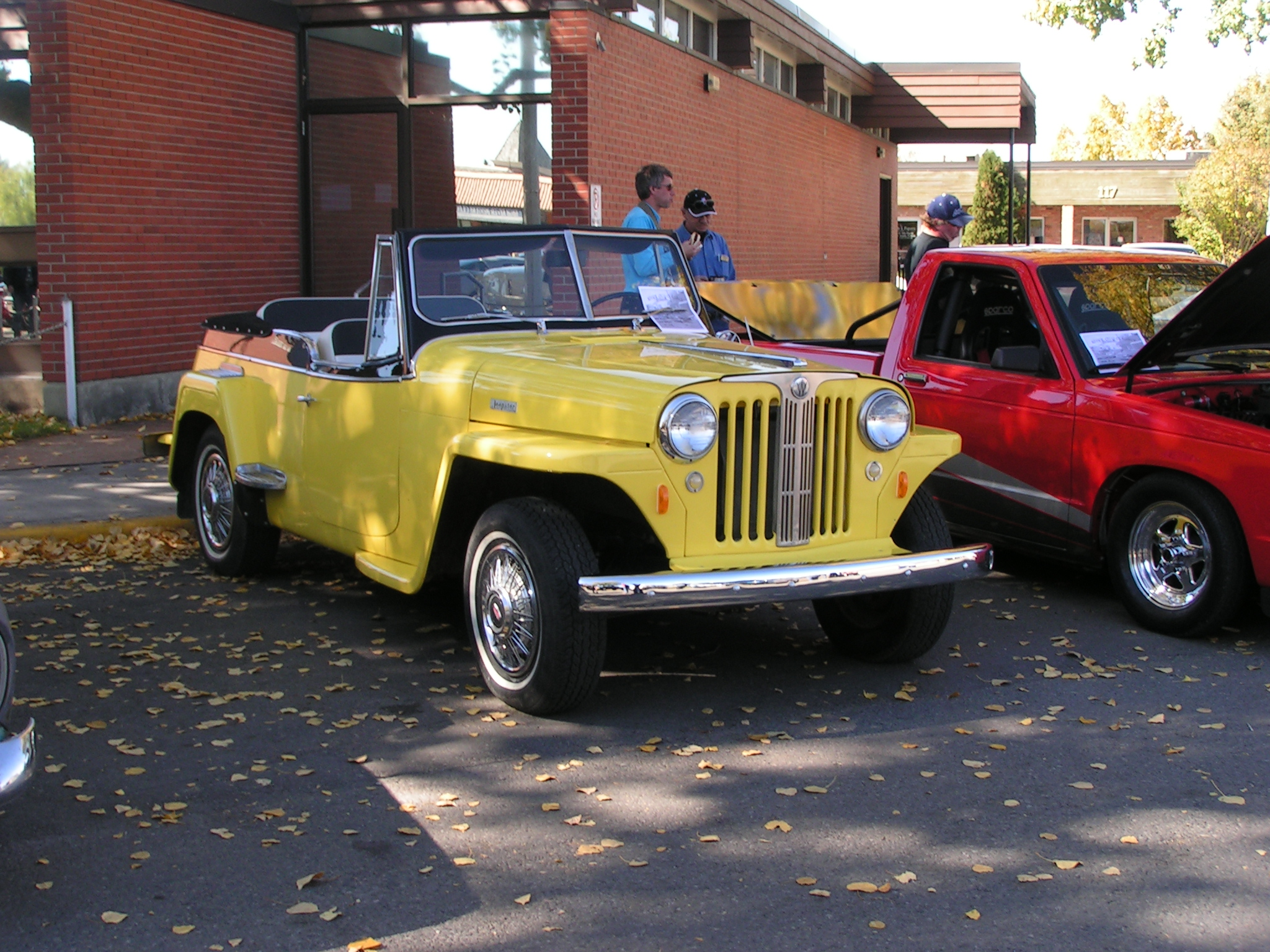Willys Overland Jeepster Wikipedia Jeep Truck Wiring Diagram