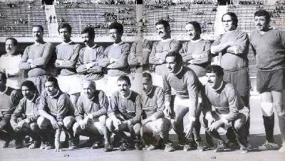 Algeria – Barbary Privateers - The FLN football team during its Vicennial Jubilee