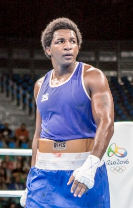 Castillo at the 2016 Olympics