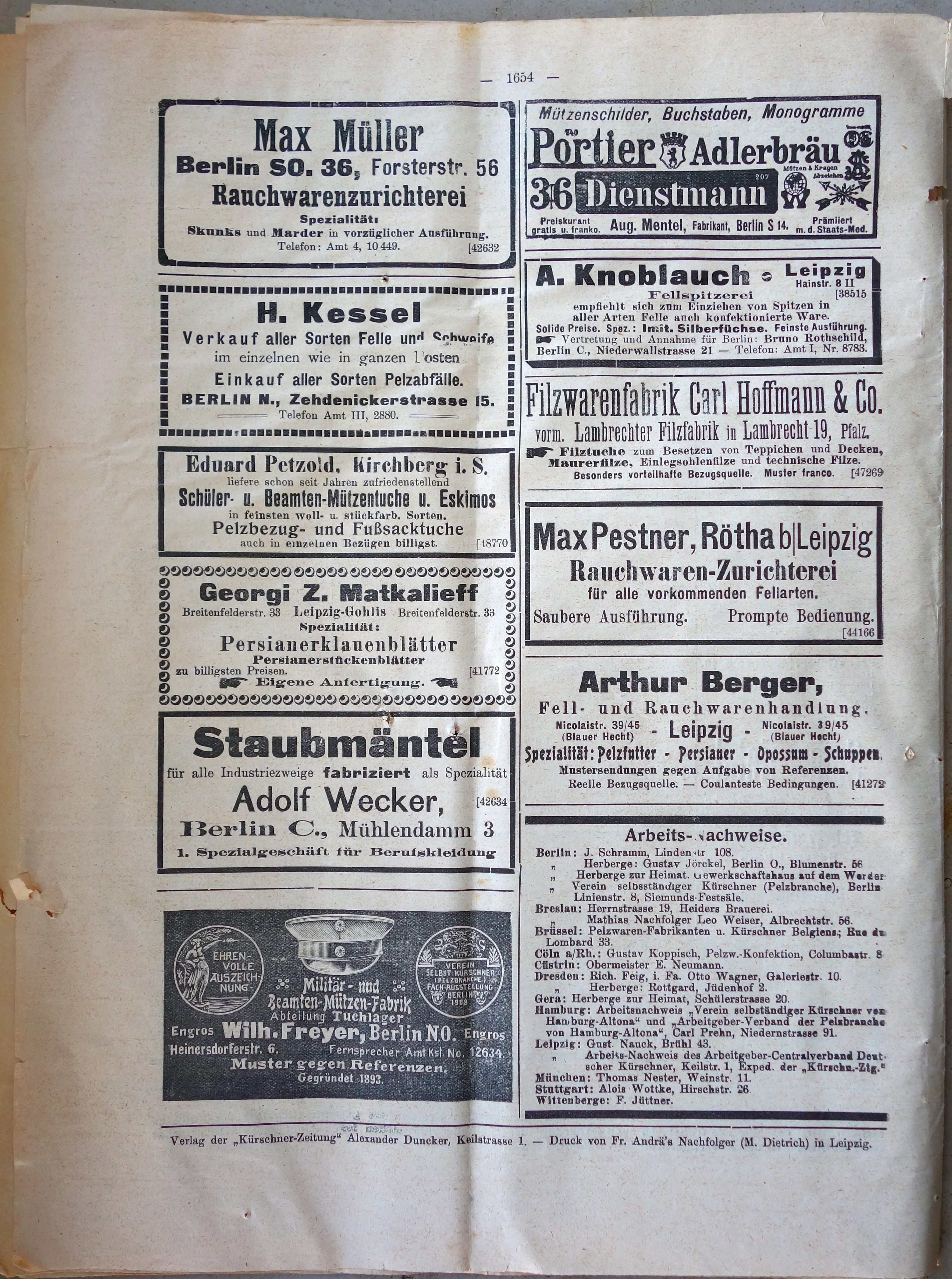 File:Kürschner-Zeitung No. 25, Leipzig 08. Dezember 1912 (48).jpg ...