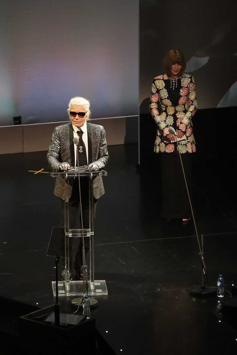 Apart from Anna Wintour, André Leon Talley has also remembered late friend Karl Lagerfeld in his memoir. Source: Commons.Wikimedia