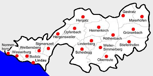 File karte landkreis lindau bodensee png wikimedia commons for Bodensee karte