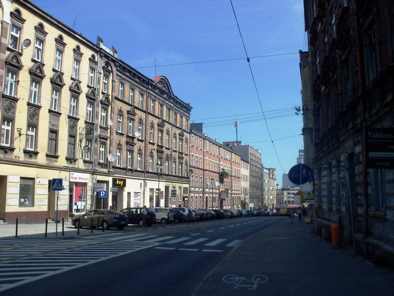 Ulica Jana Kochanowskiego w Katowicach